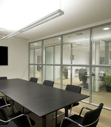 glass partition walls cost